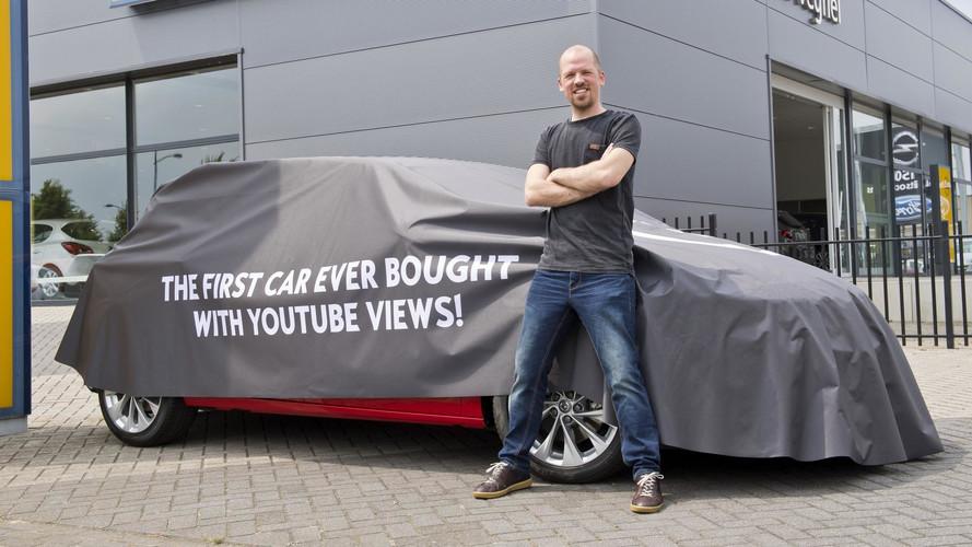 Que tal comprar um Astra e pagar com visualizações no YouTube?