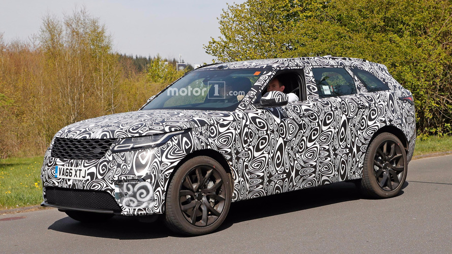 Land Rover Range Rover Velar'ın SVR versiyonu Nürburgring'de