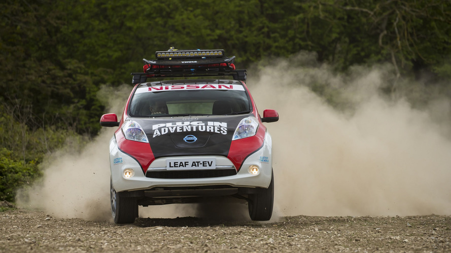 El Nissan LEAF All Terrain EV completará un rally maratoniano
