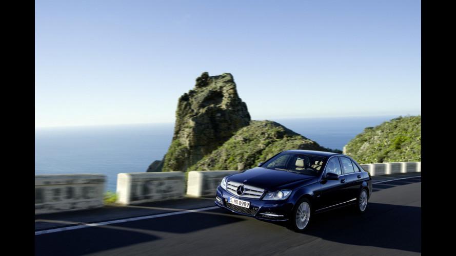 Mercedes Classe C Restyling, il silenzio comanda