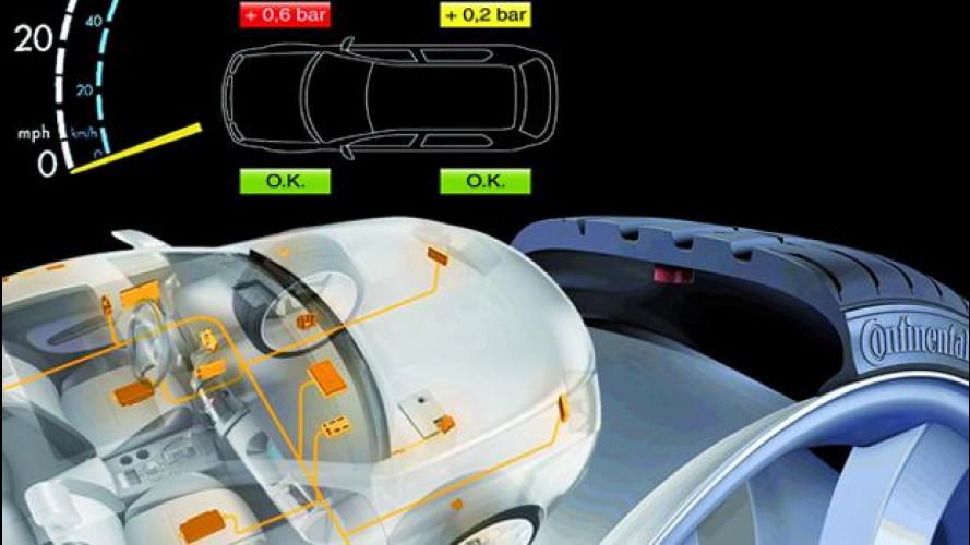 Pneumatici: sensori di pressione obbligatori dal 2014