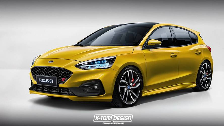 Of Course Someone Has Already Rendered The New Ford Focus ST, RS