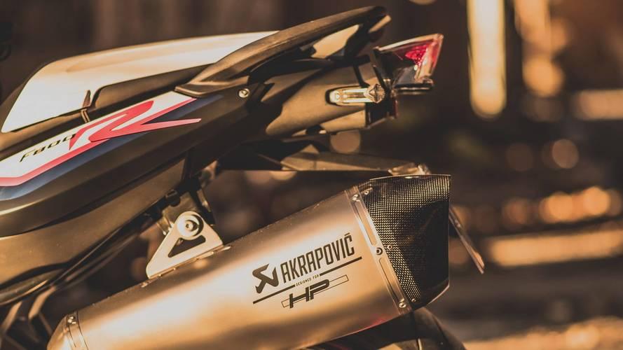 BMW F 800 R Akrapovic