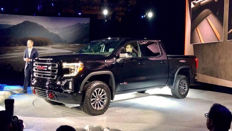 Gmc Launches 2019 Sierra At4 And Off Road Ready Sub Brand