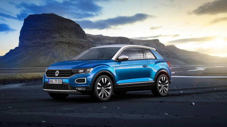 VW T-Roc coupe render