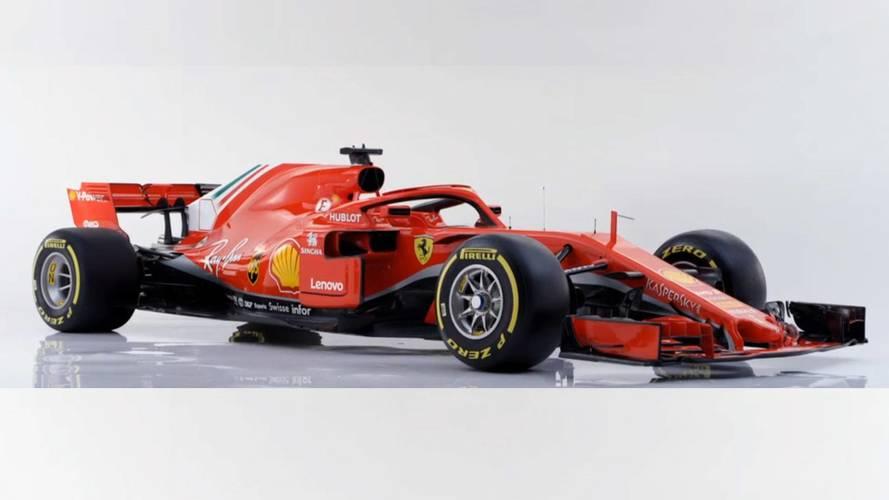 Ferrari présente sa nouvelle F1, la SF71H !