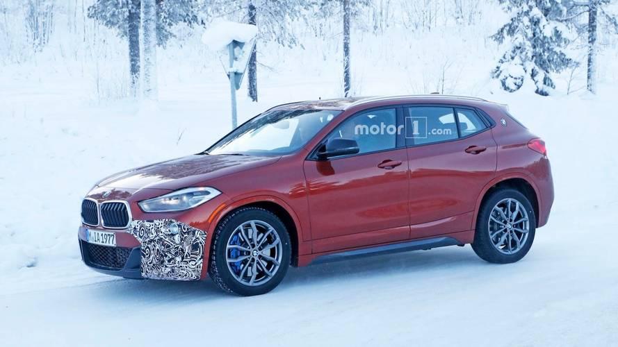 BMW X2 M35i neredeyse kamuflajsız yakalandı!