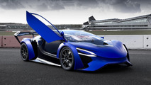 Techrules AT96 TREV supercar concept