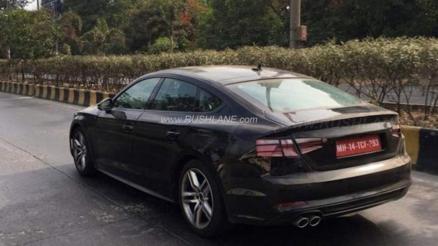 2017 Audi A5 Sportback spied in India with clever disguise