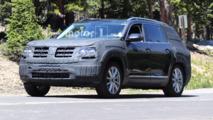 Volkswagen CrossBlue Spy Shots