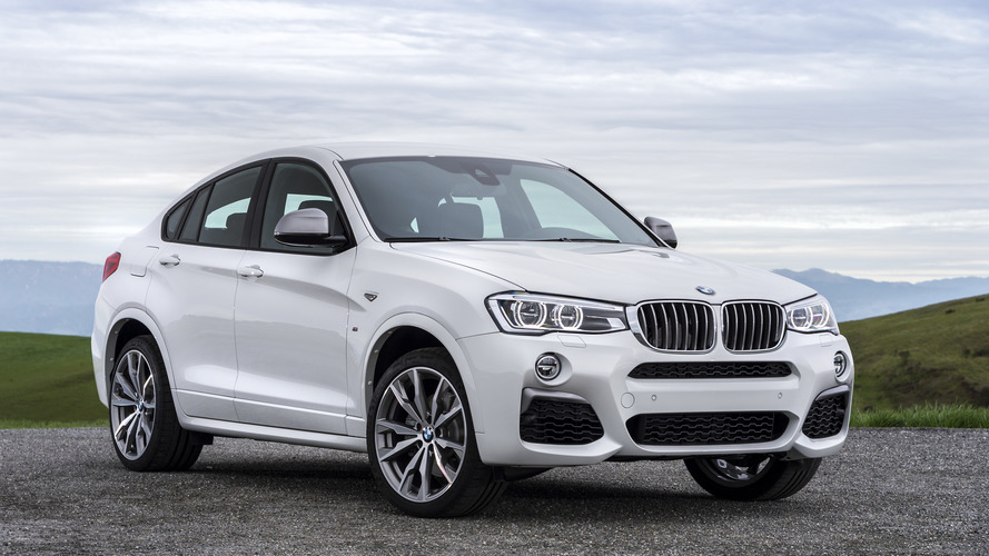 le nouveau bmw x4 se pr sente sans camouflage. Black Bedroom Furniture Sets. Home Design Ideas
