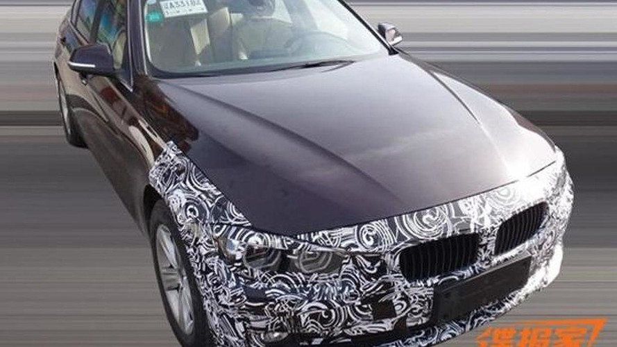 BMW 3-Series facelift spied hiding LED headlights