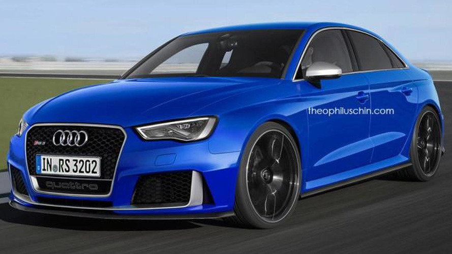 Audi RS3 Sedan rendered, could actually happen
