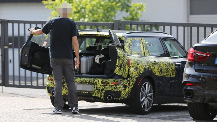 2016 MINI Clubman caught with its rear doors open
