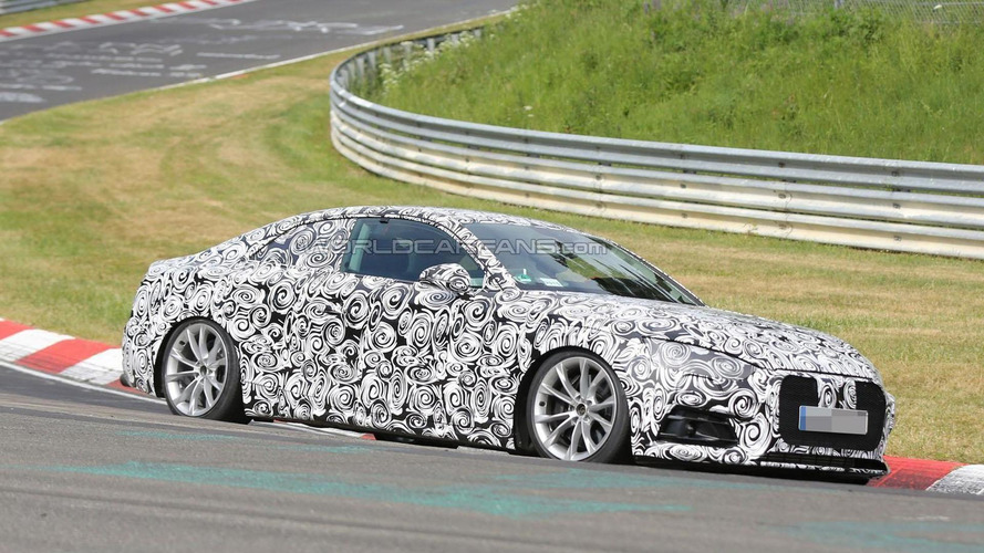 2017 Audi S5 Coupe blitzkriegs the Nurburgring