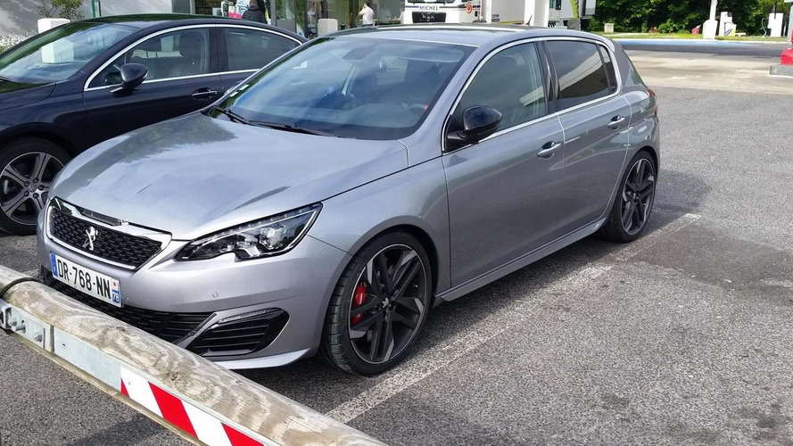 Alleged Peugeot 308 GTI spotted with no camouflage
