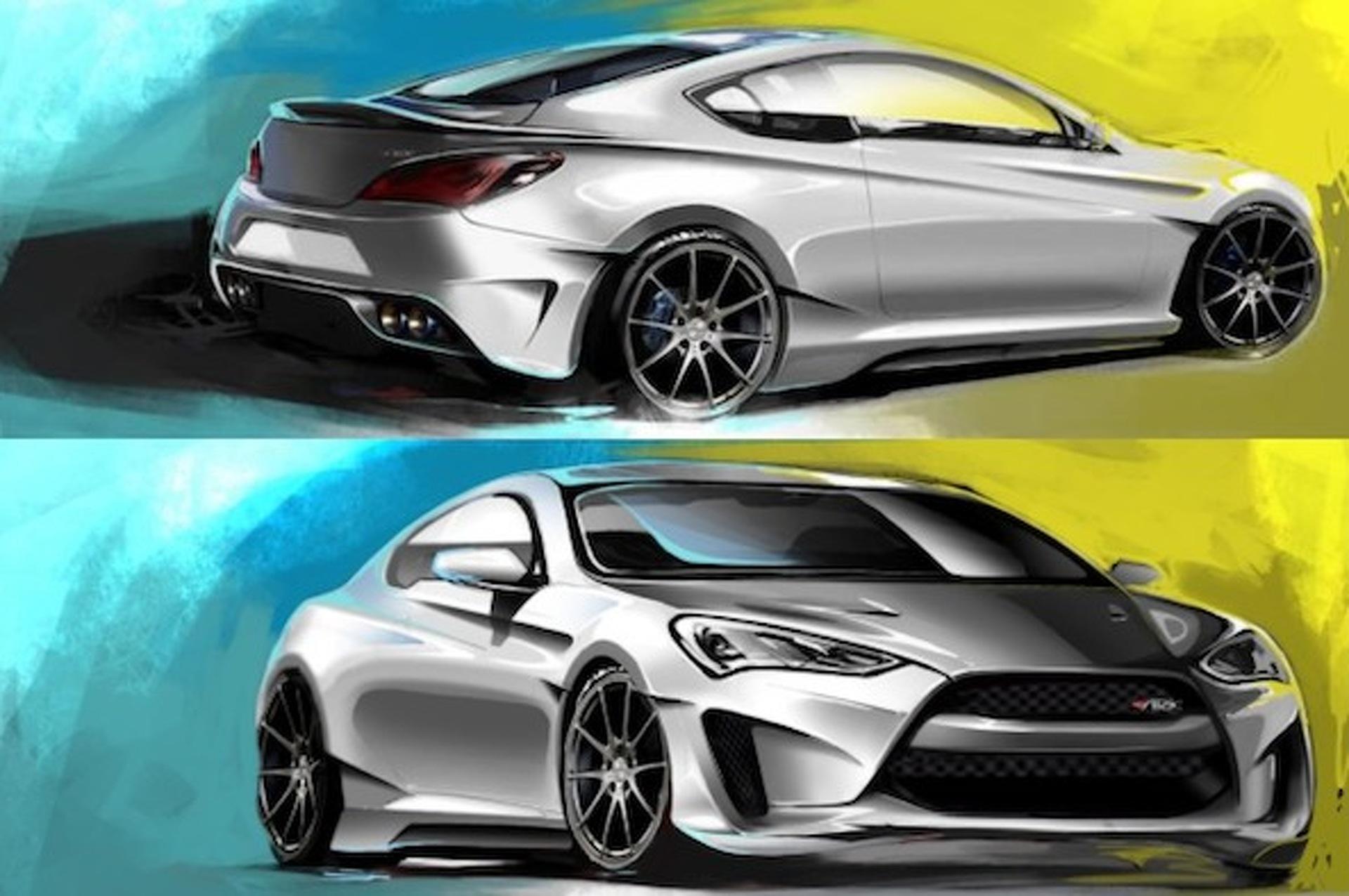 Hyundai and Ark Performance Dish Out 400HP Genesis for SEMA