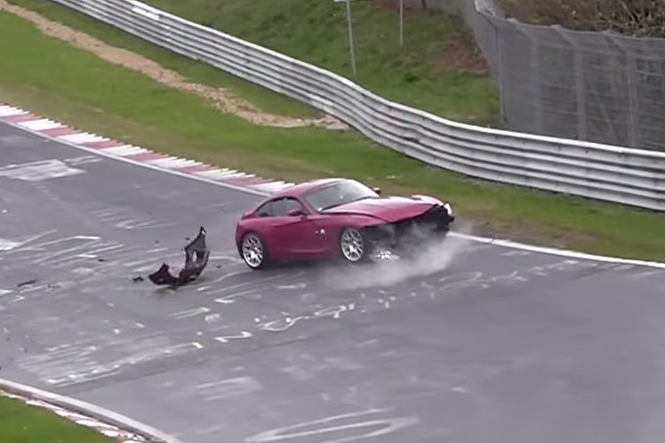 Nurburgring Crashes and Near-Misses is Intoxicating to Watch [video]