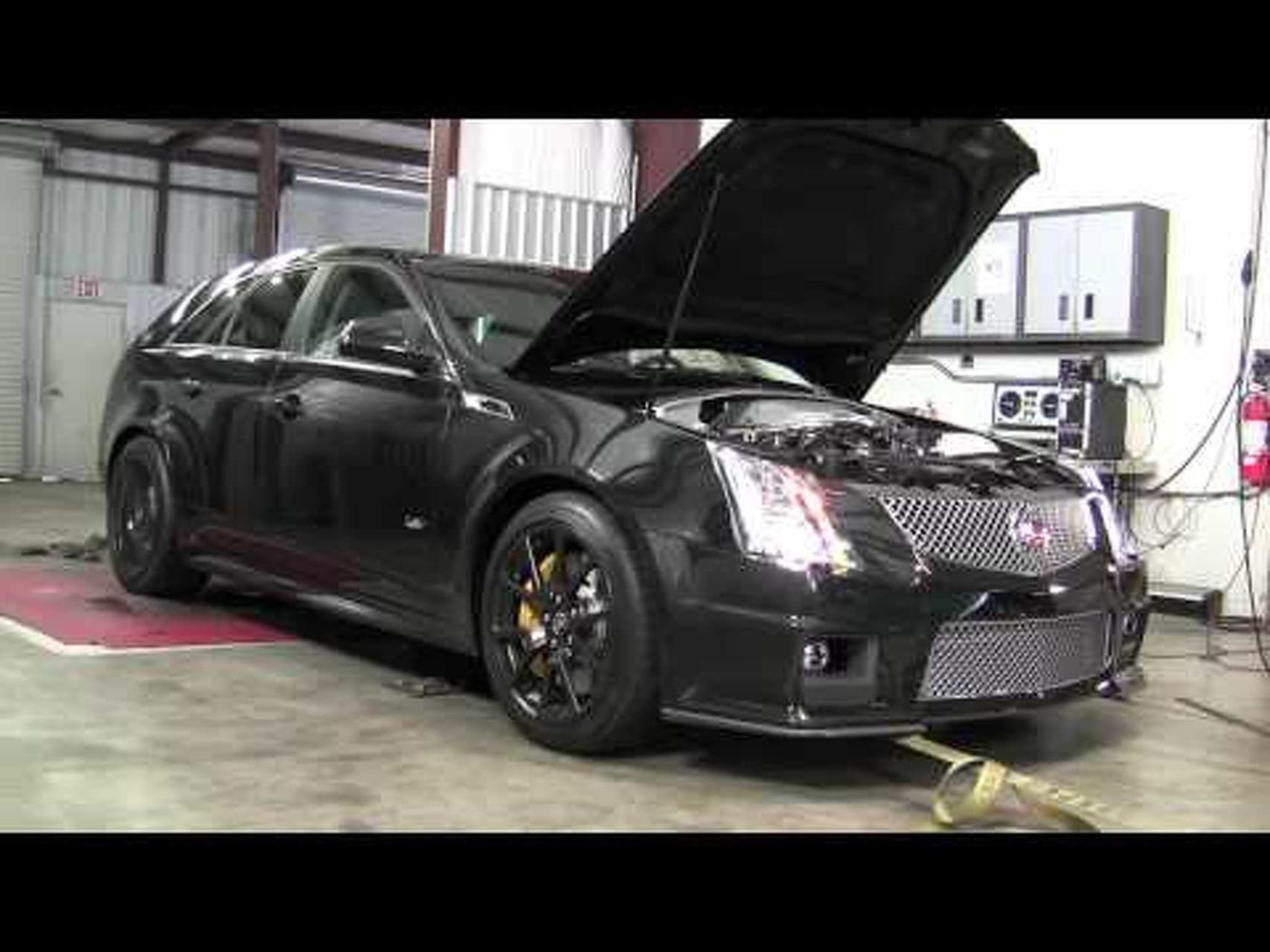 Hennessey CTS-V Sport Wagon Black Dyno Test