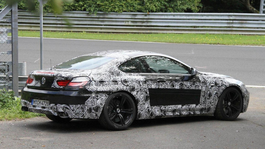 2012 BMW M6 Coupe prototype crashes on the Nürburgring