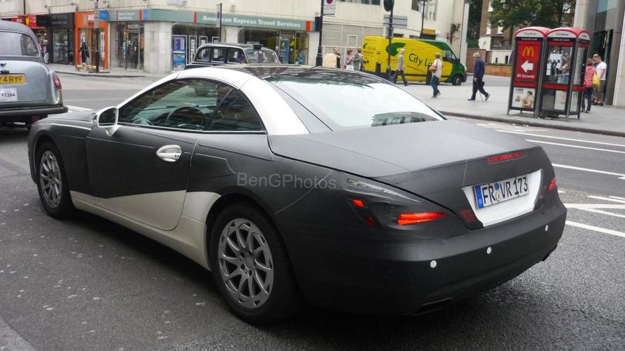 2012 Mercedes SL & BMW 3-Series spied by WCF reader