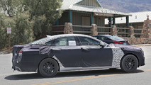 2017 Hyundai Genesis facelift spied with a turbocharged engine