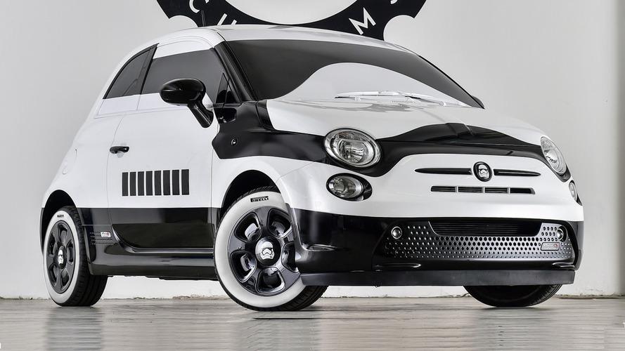 Garage Italia Customs unveils the Fiat 500e stormtrooper in Los Angeles