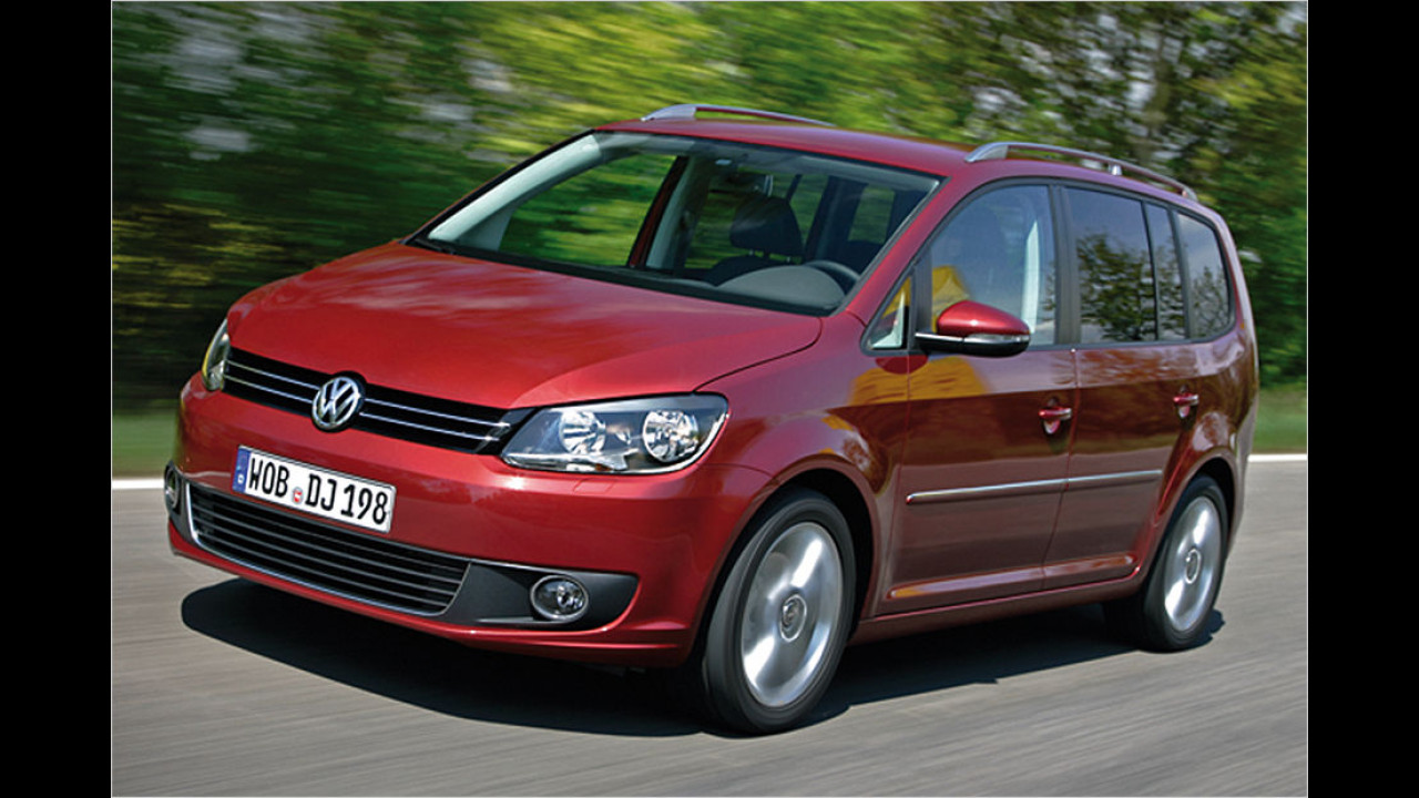 Vans, Platz 1: VW Touran (22.159 Stück)