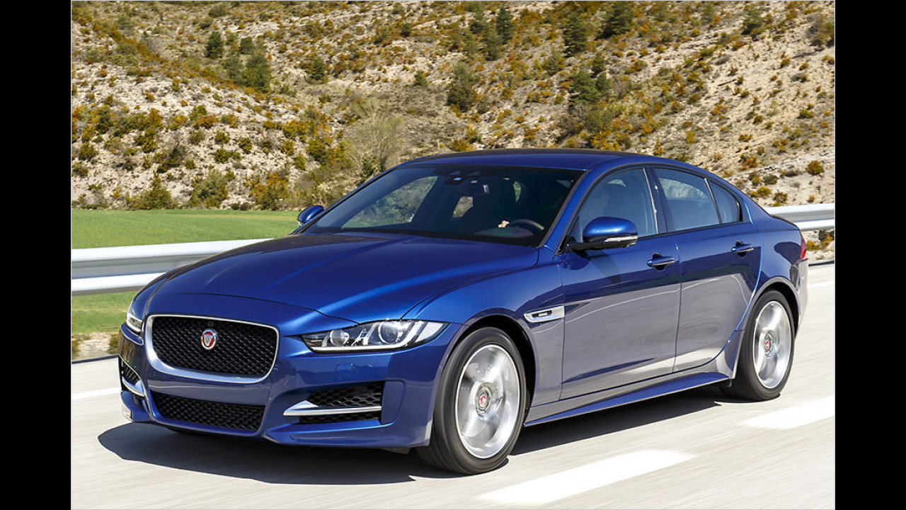 Jaguar XE: Platz 2 ,World Design Car of the Year