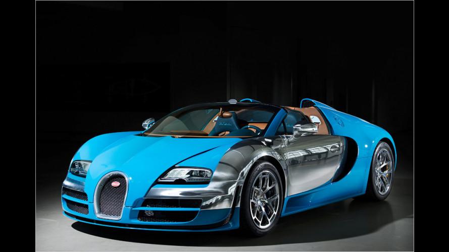 Es gibt nur drei: Edler Sonder-Bugatti