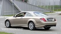 Next Generation Mercedes CL Coupe Spy Photos
