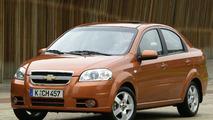 New Chevrolet Aveo sedan