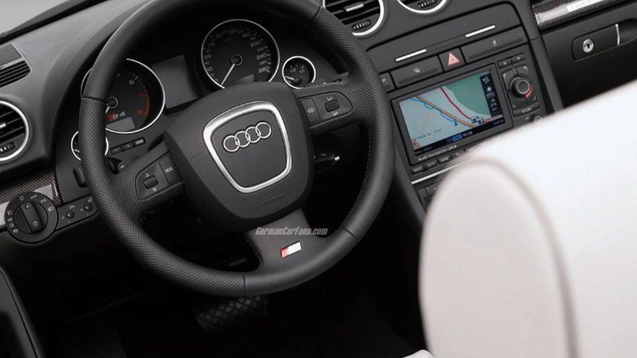 Audi S4 Cabriolet Interior