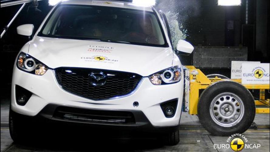 Euro NCAP: 5 stelle e buoni voti per BMW, Hyundai, Mazda e Peugeot
