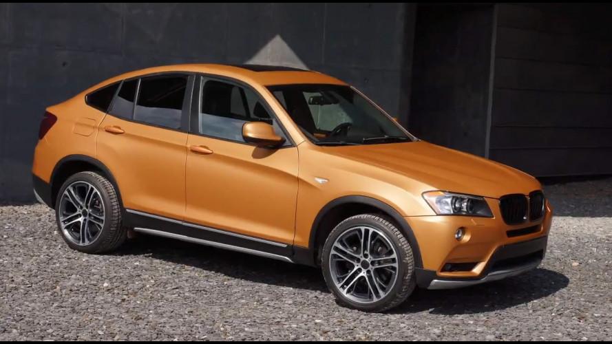BMW Deep Orange 4 concept, il SUV che diventa pick-up