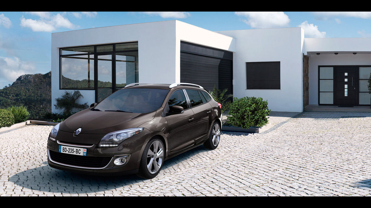 Renault Megane Sportour Model Year 2012