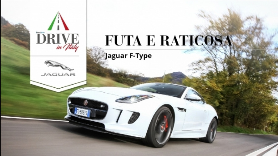 Drive in Italy, con Jaguar tra le curve della Futa-Raticosa [VIDEO]