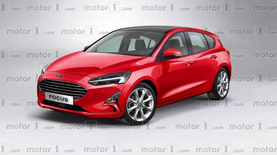 Ford Focus 2018: ¿se parecerá a este render?