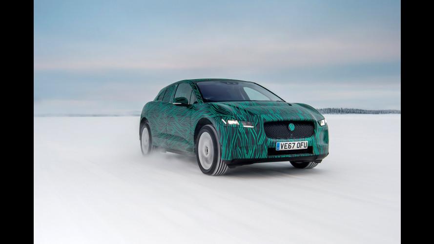 Jaguar I-Pace, può fare il pieno elettrico in 45 minuti