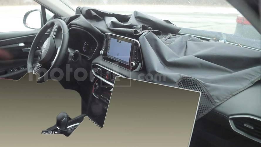 Yeni Hyundai Santa Fe'nin iç mekanına bir göz atalım