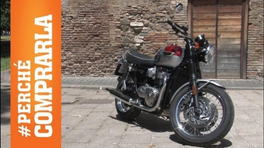 Triumph Bonneville T120, la prova di OmniMoto.it [VIDEO]