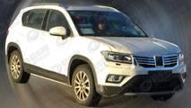 Volkswagen Tharu - Flagra