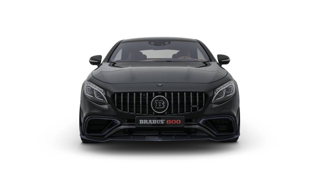 2018 brabus 800 coupe based on the mercedes amg s63 coupe for Mercedes benz usa llc brunswick ga