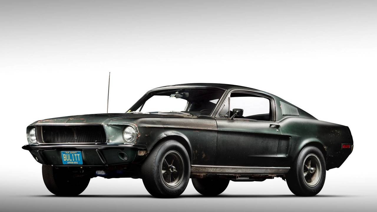 1968 Ford Mustang Bullitt Original Movie Car Photo