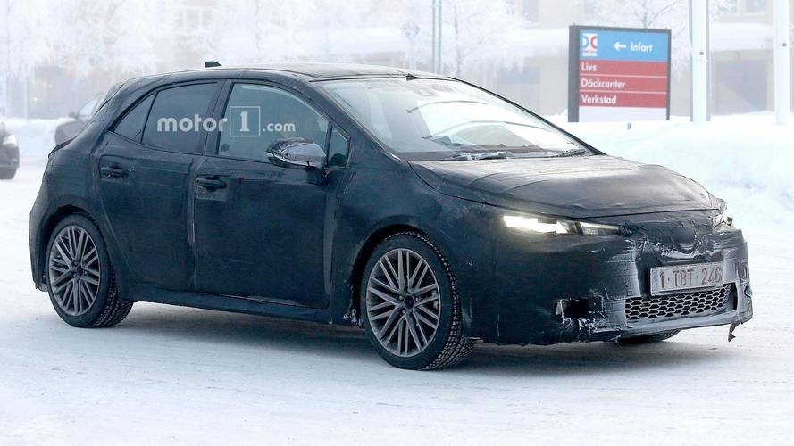 Next-gen Toyota Auris and Corolla iM Spied Testing In The Cold