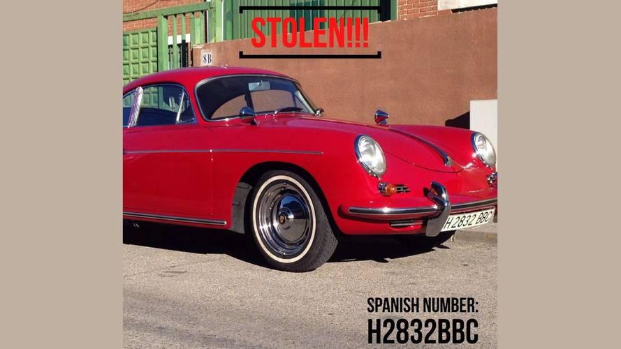 Ocho motos únicas y un Porsche 356 robados en Madrid