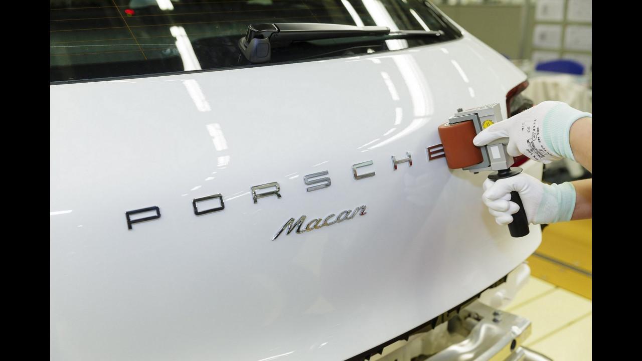 La fabbrica Porsche di Lipsia