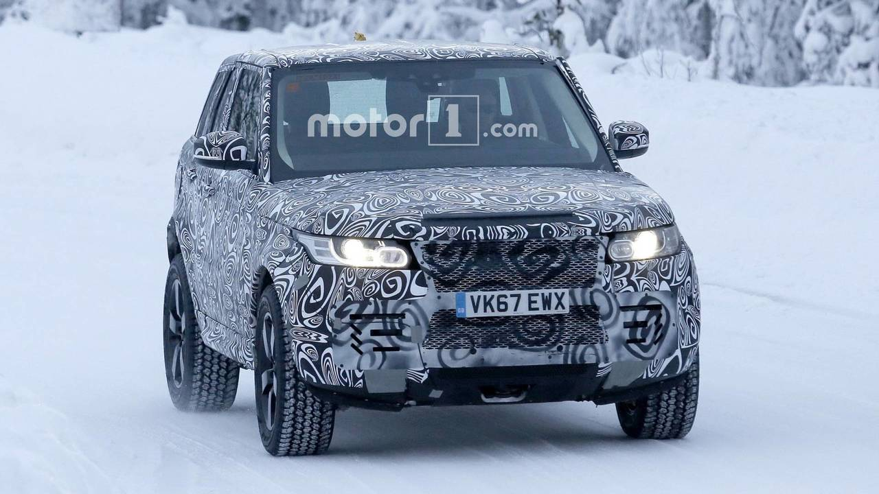 Land Rover Defender Mule >> Cute Land Rover Test Mule Is Actually The New Defender
