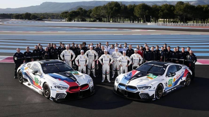 5000 kilométert tett meg első hivatalos WEC-tesztjén a BMW M8 GTE