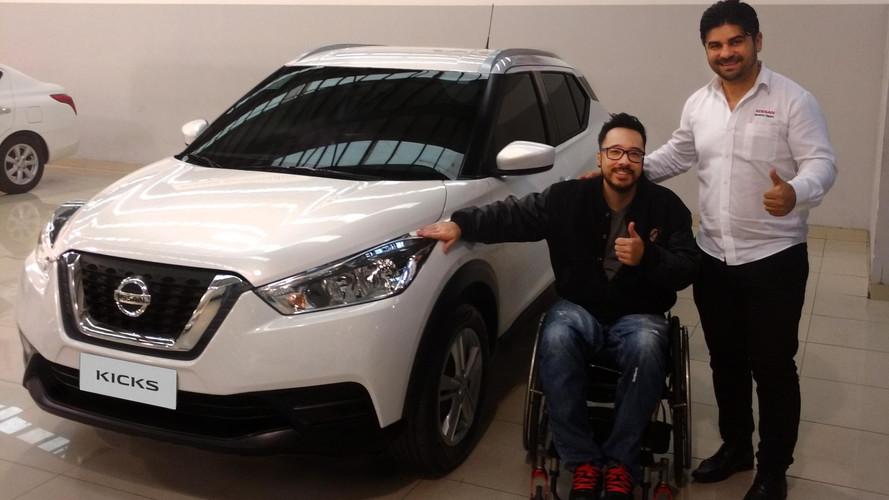 Nissan Kicks PcD tem primeira unidade entregue em São Paulo